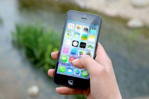 Client using iPhone