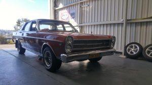Classic Restoration Vehicle_Maroon Caption
